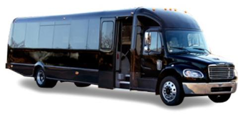 limousine 36 Pass Limo Bus exterior image
